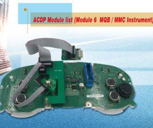 Yanhua mini acdp module 6