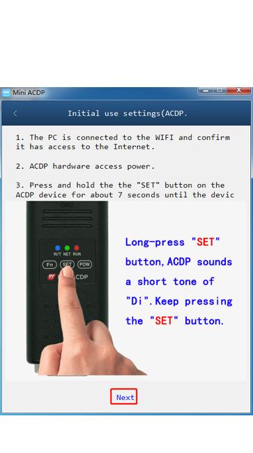 acdp bluetooth setup 5