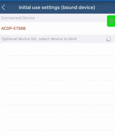 yanhua mini acdp connection on android ios via hotspot 15