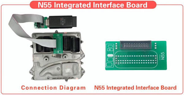 yanhua mini acdp dme n55 integrated interface board 2