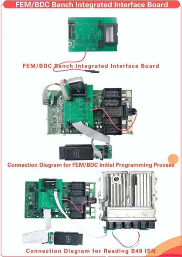 yanhua mini acdp fem bdc bench integrated interface board 4