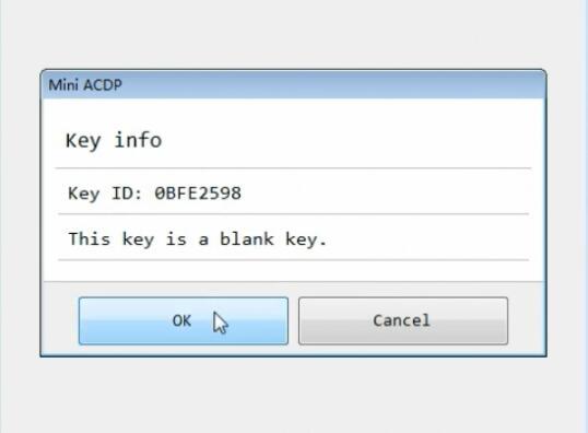 yanhua mini acdp program bmw cas3 all keys lost 6