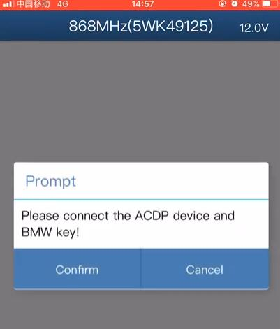 yanhua mini acdp refresh bmw key pc ios 13