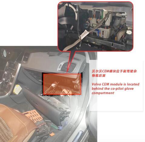yanhua mini acdp volvo module12 kvm cem 18