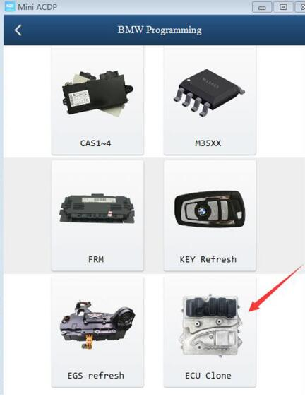 yanhua mini acdp bmw ecu clone 7