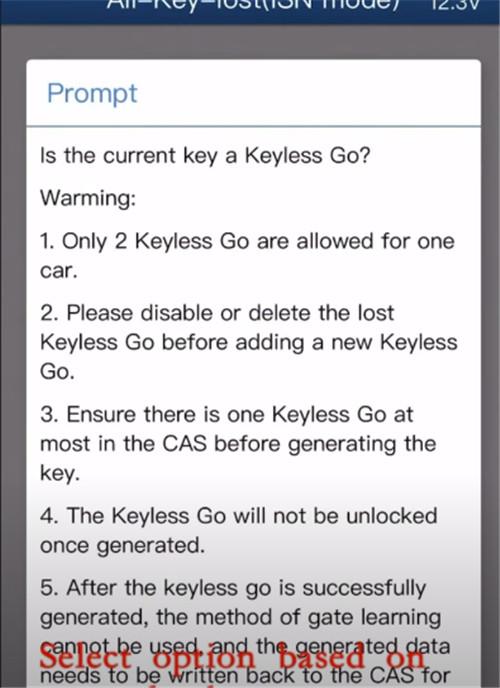 mini acdp cas3 all keys lost 14